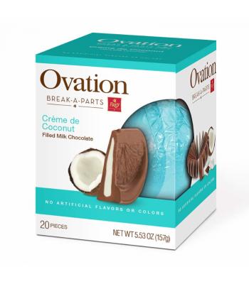 Ovation Break-A-Parts Coconut-Filled Milk Chocolate - 5.53oz (156g)