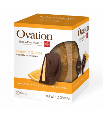 Ovation Break-A-Parts Orange-Filled Dark Chocolate - 5.53oz (157g) Sweets and Candy