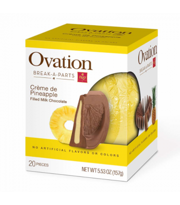 Ovation Break-A-Parts Pineapple-Filled Milk Chocolate - 5.53oz (156g) Sweets and Candy