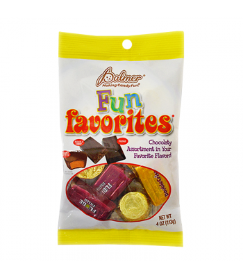 Palmer's Peg Bag Fun Favorites - 4oz (113g) Sweets and Candy