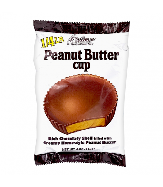 Palmer's Giant Peanut Butter Cup - 4oz (113g) Sweets and Candy