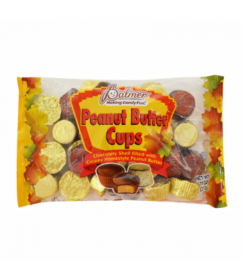 Palmer's Halloween Autumn Leaf Peanut Butter Cups - 11oz (312g) Sweets and Candy