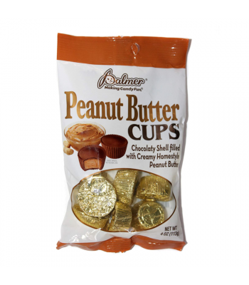 Palmer's Peanut Butter Cups - 4oz (113g) Sweets and Candy