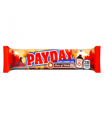 Hershey's Flavour of Texas - BBQ Peanut Caramel Pay Day Bar 1.85oz (52g) [LIMITED EDITION] Chocolate, Bars & Treats Hershey's