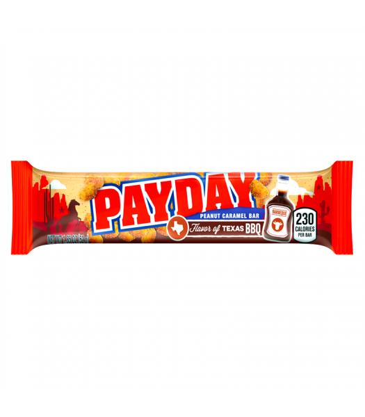 Hershey's Flavour of Texas - BBQ Peanut Caramel Pay Day Bar 1.85oz (52g) [LIMITED EDITION] Chocolate, Bars & Treats Hershey's