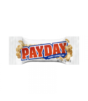 Pay Day Snack Size Miniature - 0.7oz (19g) SINGLE Sweets and Candy Hershey's