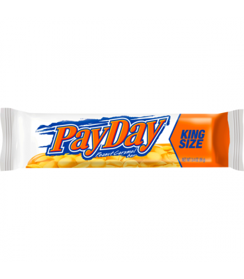 Pay Day Bar King Size 3.4oz (96g) Chocolate, Bars & Treats Hershey's