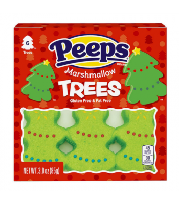 Peeps Marshmallow Trees 6 Pack - 3oz (85g) Sweets and Candy Peeps