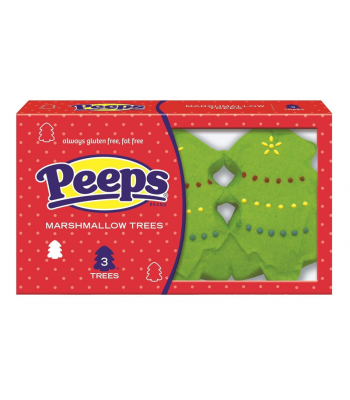 Peeps - Marshmallow Trees - 3 Pack - 1.125oz (32g) [Christmas] Sweets and Candy Peeps