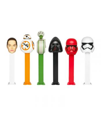 PEZ Star Wars Blister Pack - 0.87oz (24.7g) Sweets and Candy PEZ