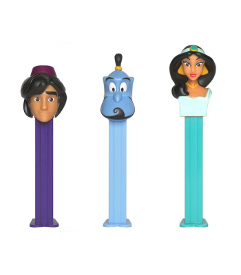 PEZ Aladdin & Friends Poly Pack - 0.58oz (16.4g) Sweets and Candy PEZ