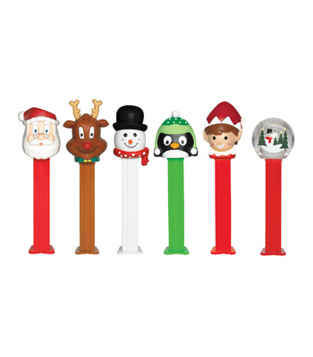 PEZ Christmas Blister Pack 0.87oz (24.7g) Sweets and Candy PEZ