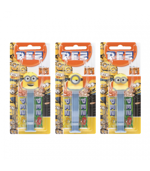 PEZ Despicable Me Blister Pack - 0.87oz (24.7g) Sweets and Candy PEZ