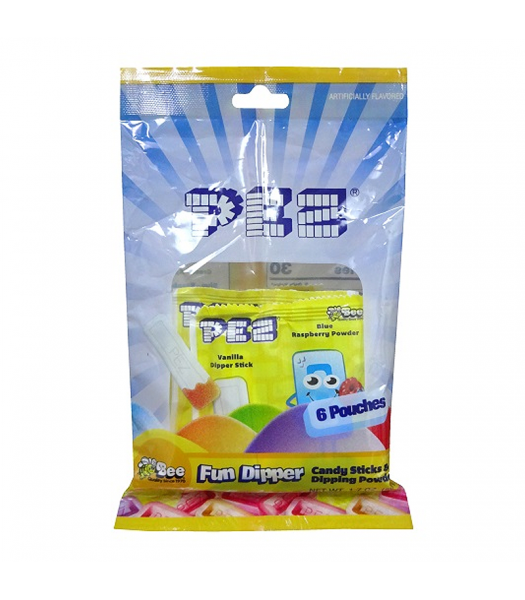 PEZ Fun Dippers 1.7oz (48g) Sweets and Candy PEZ