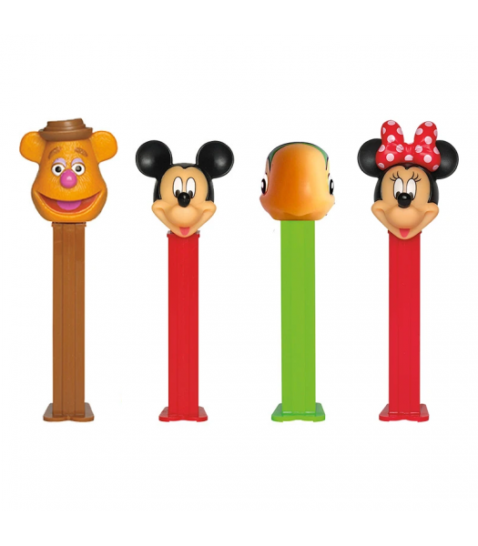 PEZ Disney Junior Dispenser & Candy Poly Pack - 0.58oz (16.4g) Sweets and Candy PEZ