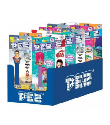 PEZ Favourites Assortment - 0.87oz (24.7g) Sweets and Candy PEZ
