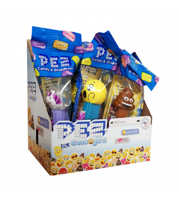 PEZ Emojis Poly Pack Sweets and Candy PEZ