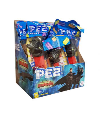 PEZ How To Train Your Dragon Poly Pack Sweets and Candy PEZ