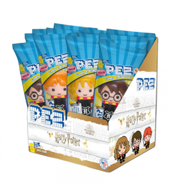 PEZ Harry Potter Candy & Dispenser Poly Packs - 0.58oz (16.4g) Sweets and Candy PEZ