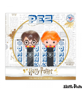 PEZ Harry Potter Gift Set - 1.74oz (49.3g) Sweets and Candy PEZ