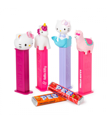 PEZ Hello Kitty Blister Pack - 0.87oz (24.7g) Sweets and Candy PEZ