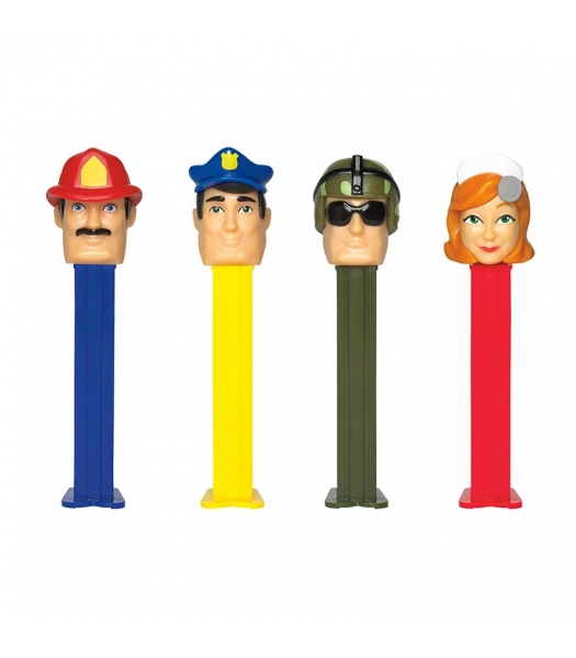 PEZ Heroes Dispenser & Candy Poly Pack - 0.58oz (16.4g) Sweets and Candy PEZ