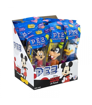 PEZ Mickey Mouse & Friends Poly Pack Sweets and Candy PEZ