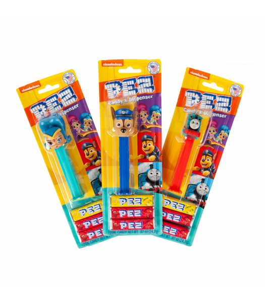 PEZ Nick Jr Candy & Dispenser Blister Pack - 0.87oz (24.7g) Sweets and Candy PEZ