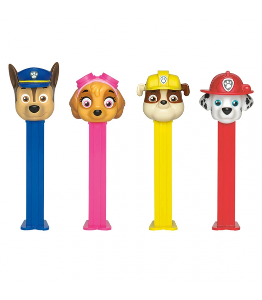 PEZ Paw Patrol Candy & Dispenser Blister Pack - 0.87oz (24.7g) Sweets and Candy PEZ
