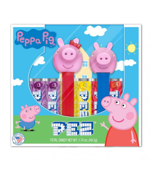 PEZ Peppa Pig Gift Set - 1.74oz (49.3g) Sweets and Candy PEZ