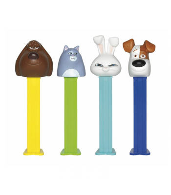 PEZ Pets 2 Candy Dispenser (Poly Pack) + 2 PEZ Tablet Packs - 0.58oz (16.4g) Sweets and Candy PEZ