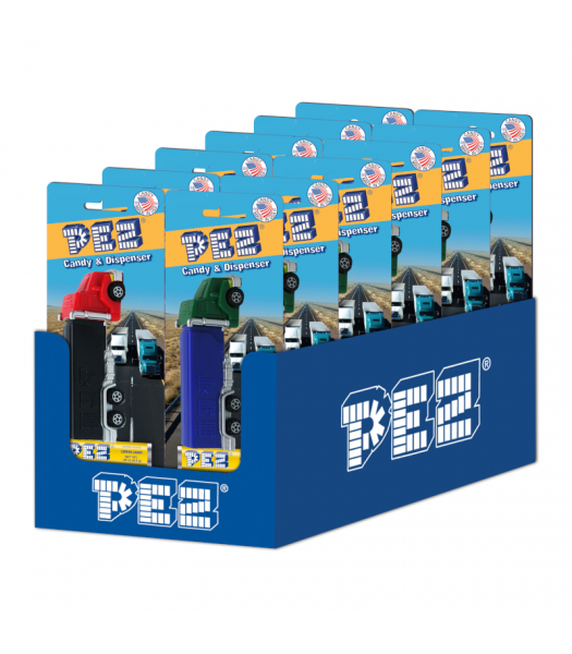 PEZ Rigs Blister Pack - 0.87oz (24.7g) Sweets and Candy PEZ