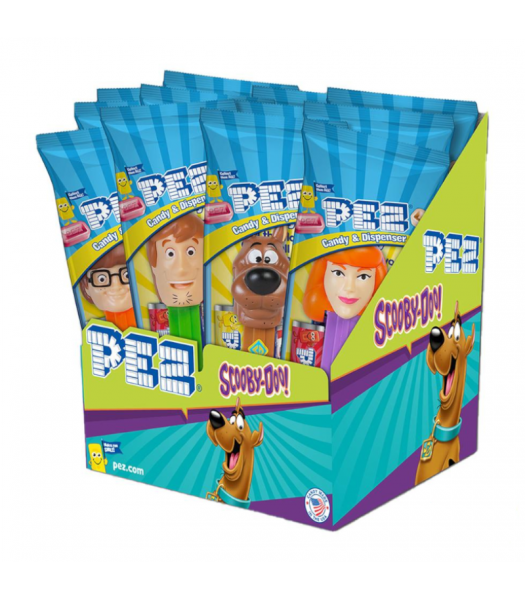 PEZ Scooby Doo Candy & Dispenser Poly Packs - 0.58oz (16.4g) Sweets and Candy PEZ