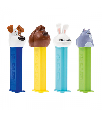 PEZ The Secret Life of Pets Blister Pack - 0.87oz (24.7g) Sweets and Candy PEZ
