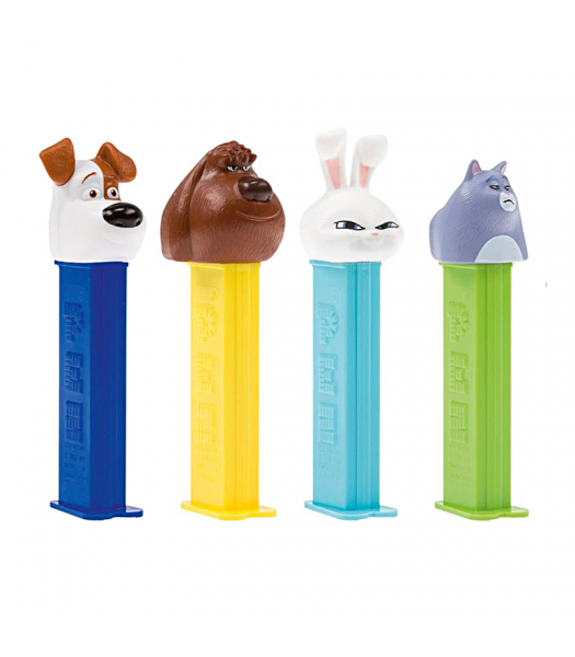 PEZ The Secret Life of Pets 2 Dispenser & Candy Blister Pack - 0.87oz (24.7g) Sweets and Candy PEZ