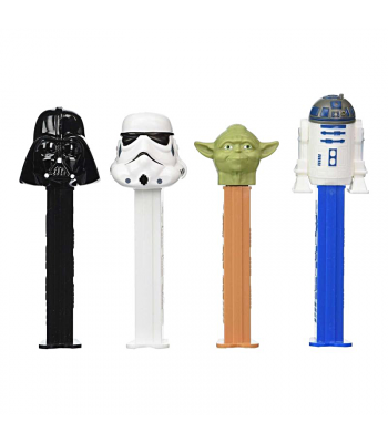 PEZ Star Wars Dispenser + 2 PEZ Tablet Packs Sweets and Candy
