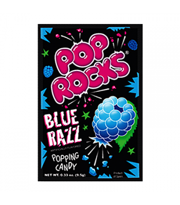 Pop Rocks Blue Razz 9.5g Sweets and Candy Pop Rocks