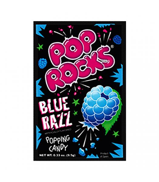 Pop Rocks Blue Razz 9.5g Sweets and Candy Pop Rocks