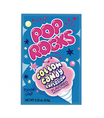 Pop Rocks Cotton Candy 9.5g Sweets and Candy Pop Rocks