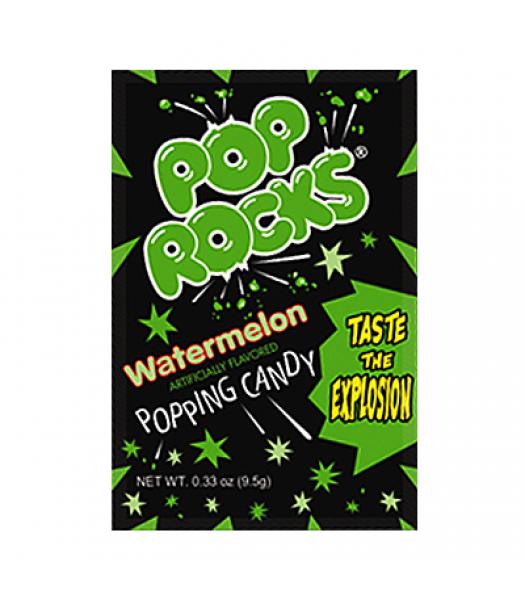 Pop Rocks Watermelon 9.5g Sweets and Candy Pop Rocks