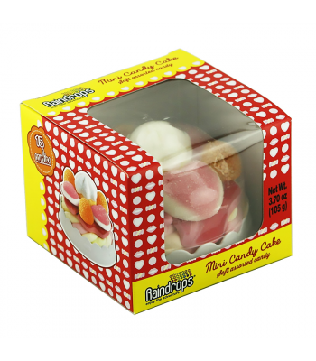 Raindrops Mini Candy Cake - 3.7oz (105g) Sweets and Candy