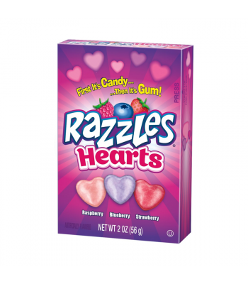 Razzles Hearts - 2oz (56g) [Valentine's] Sweets and Candy Razzles