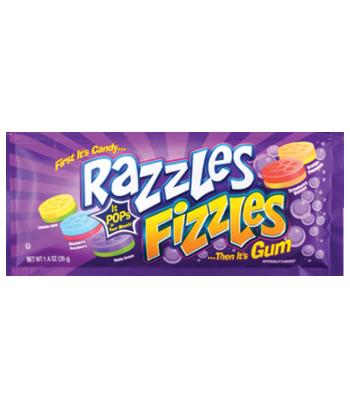 Razzles Fizzles 1.4oz (39g) Soft Candy Razzles