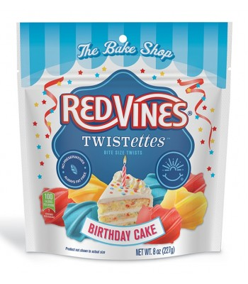 Red Vines Birthday Cake Twistettes 8oz (227g) Sweets and Candy Red Vines