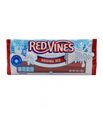 Red Vines Original Red Christmas  Twists Tray - 4oz (113g) Sweets and Candy Red Vines