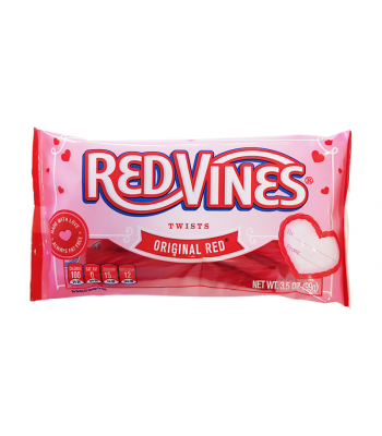 Red Vines Original Red Valentine's Twists - 3.5oz (99g) Sweets and Candy Red Vines