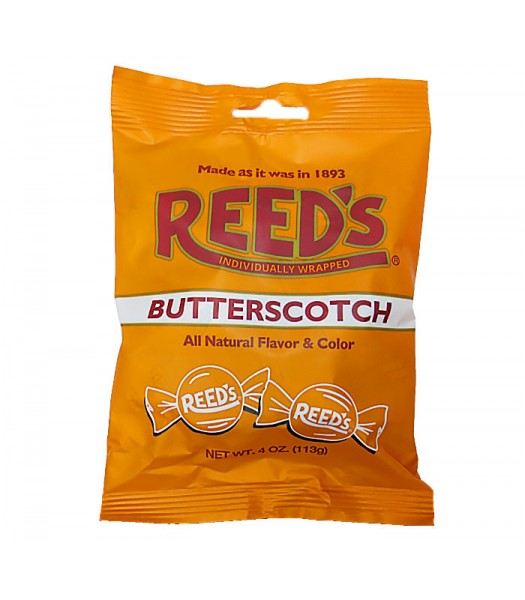 Reed's Butterscotch Peg Bag - 4oz (113g) Sweets and Candy