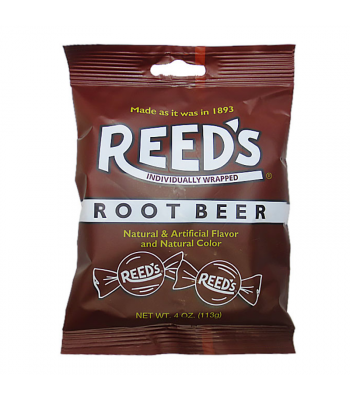 Reeds Root Beer Peg Bag - 4oz (113g) Sweets and Candy Reed's