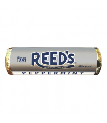 Clearance Special - Reed's Peppermint Flavoured Hard Candy Roll 1.01oz (29g) **Best Before: May 19** Clearance Zone