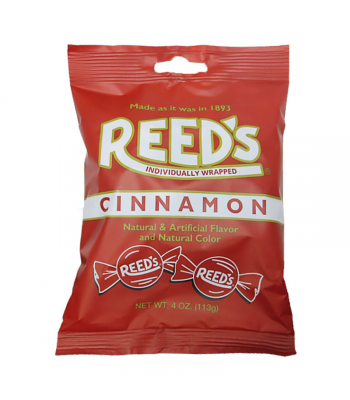 Reed's Cinnamon Peg Bag - 4oz (113g) Sweets and Candy